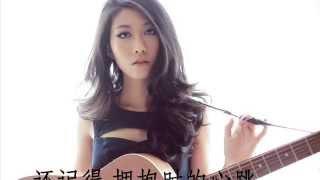 Repeat youtube video 曲婉婷 - 爱的勇气  歌词  HQ