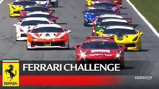Ferrari Challenge Europe - Monza 2017, Trofeo Pirelli Race 1