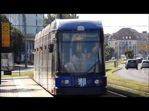 Straßenbahn Dresden - Impressionen 2014