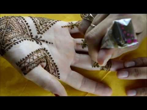 Moroccan Inspired Henna Design by Marvelous Mehndi