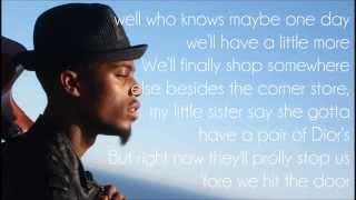 B.o.B - One Day (Lyrics) [Underground Luxury]
