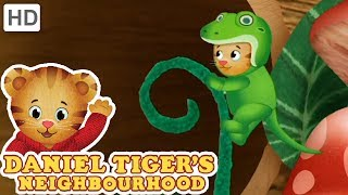 Daniel Tiger  Let's Play in the Backyard! | Videos for Kids