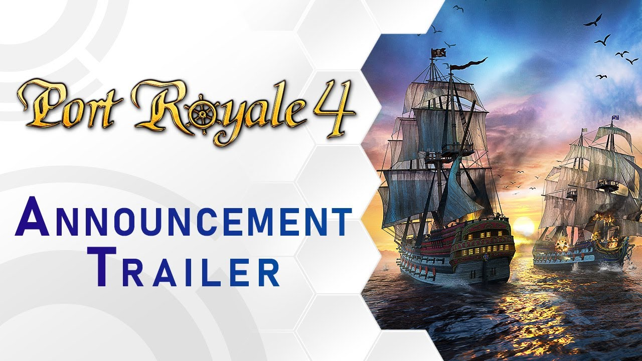 Port Royale 4 - Announcement Trailer