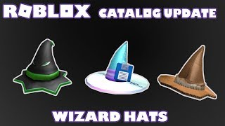 Roblox Catalog Update Wizard Hats I New Items Roblox Random Talk Ep.29 I + Streaming Update