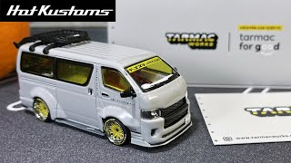 FIRST LOOK | Tarmac Works Tokyo Auto Salon Special Stunning Toyota Hiace Widebody