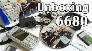 Nokia 6680 Unboxing 4K with all original accessories RM-36 review