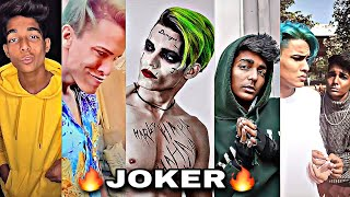 Tiktok 🔥JOKER🔥 Trending Boys |Latest Going Viral Trending Boys Joker Look Ft. Rizxtar And Rohit|