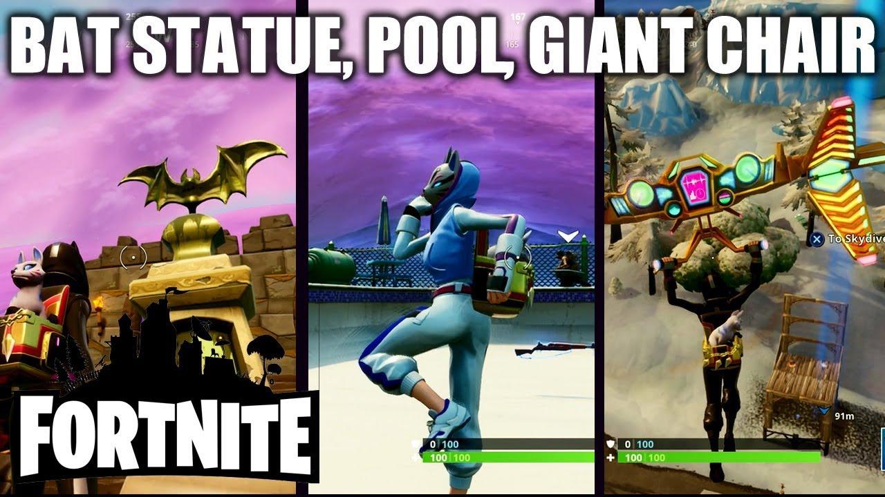 seat for giants fortnite