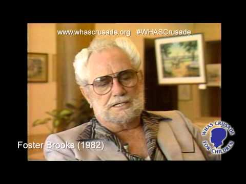 Crusade supporter Foster Brooks 1982