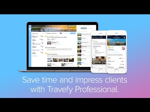 Gifted Travel Network Itinerary Builder - Powered by Travefy - YouTube