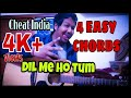 Cheat India - Dil Mein Ho Tum Easy Guitar Lesson | Four Easy Chords | Emraan Hashmi | Armaan Malik