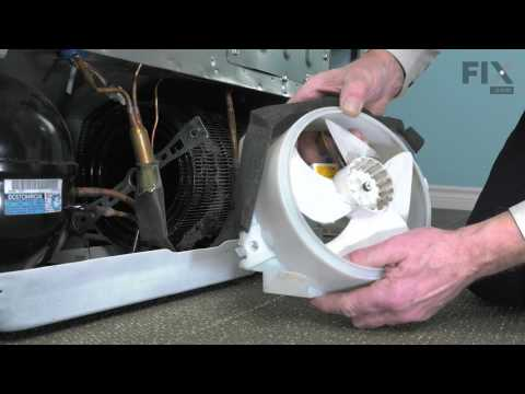 Ge Repair Refrigerator How To Replace The Condenser Fan Motor Youtube