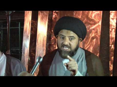 Solidarity to Hunger Strike by Molana Raja Nasir Abbas(Islamabad) at UN office NY