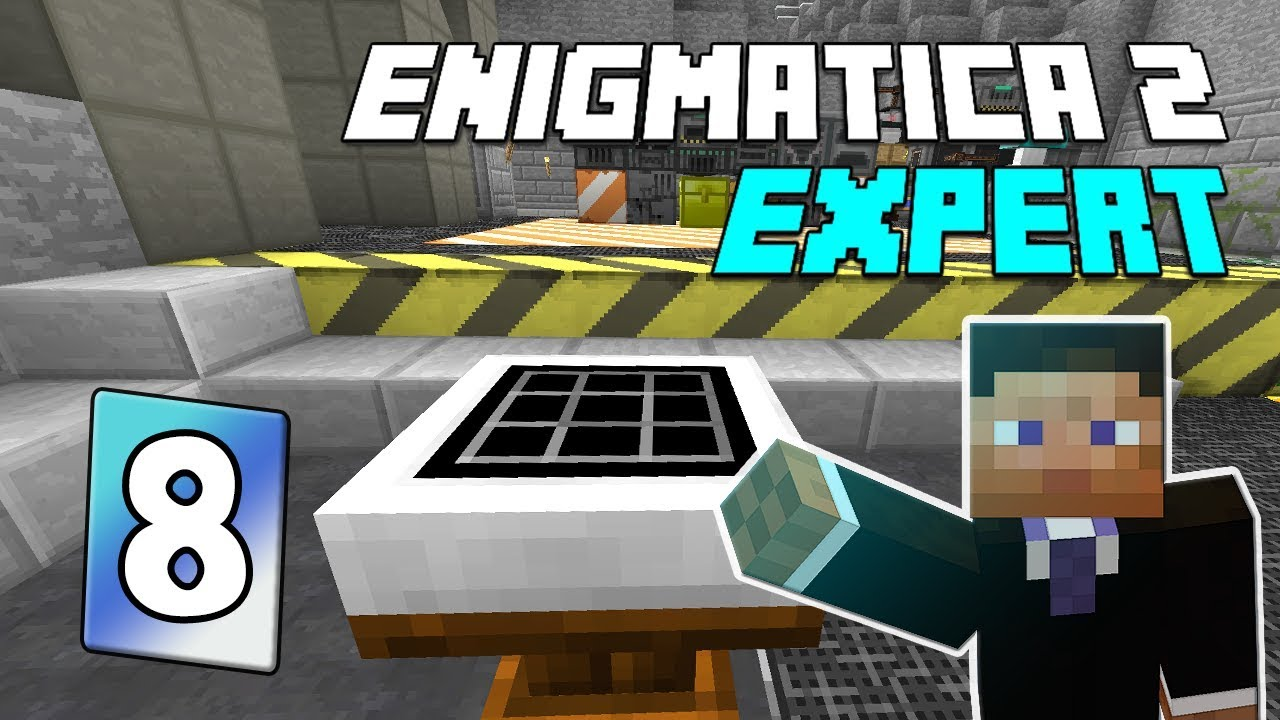 Enigmatica 2: Expert Mode - EP 8   Base stuff & Astral Sorcery