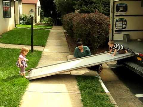 Pickup Truck Ramps >> U-Haul Ramp - YouTube