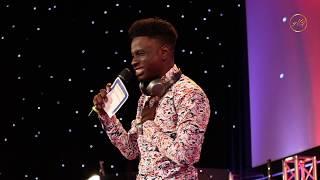 Kenny Blaq Comedian  Charm Fans at Okey Bakassi Live in London