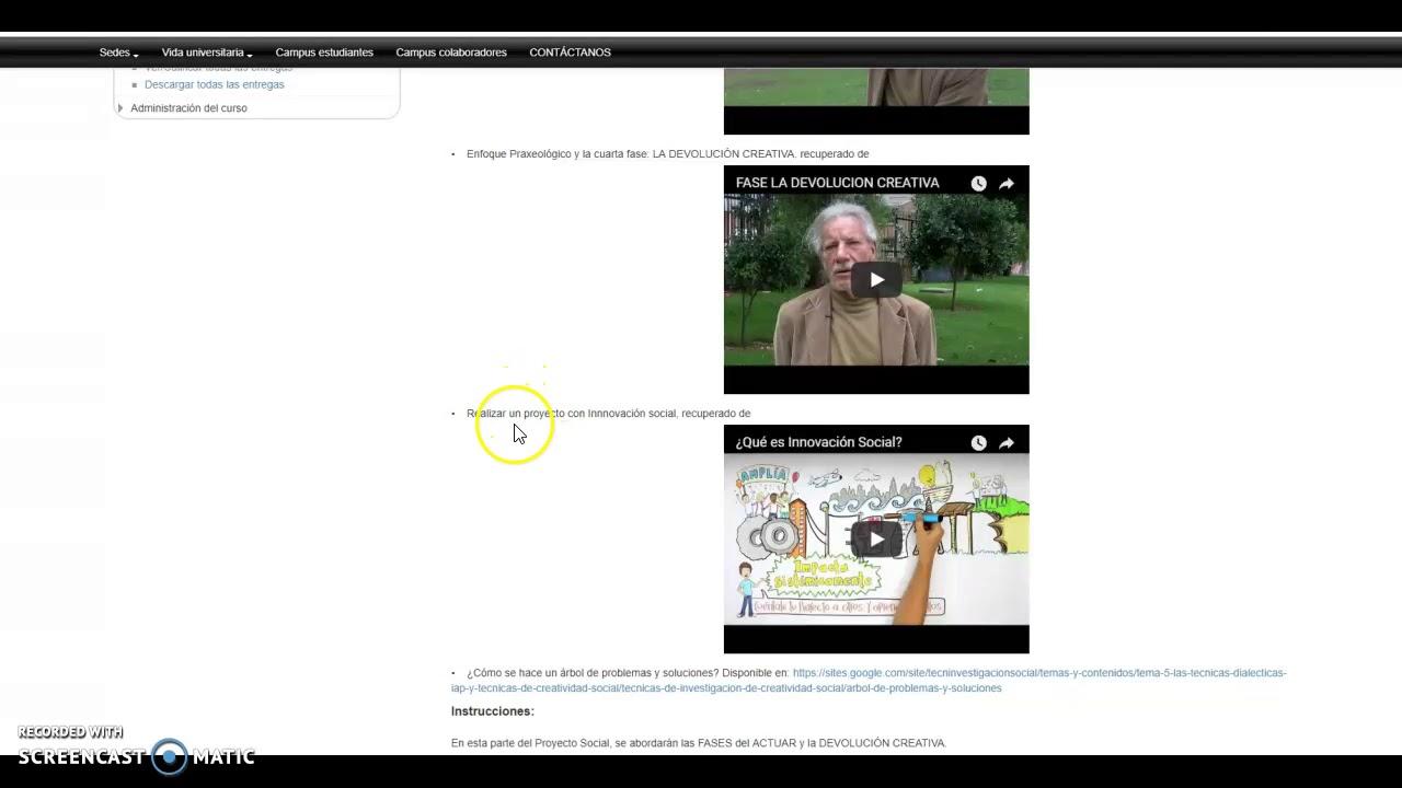Proyecto Social Parte 3 - CMD SP - YouTube