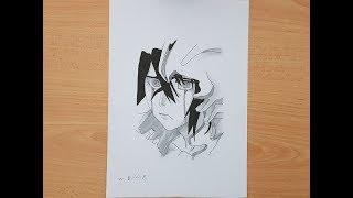تعلم رسم الكيورا من انمي بليتش Learn to draw ulquiorra from anime Bleach