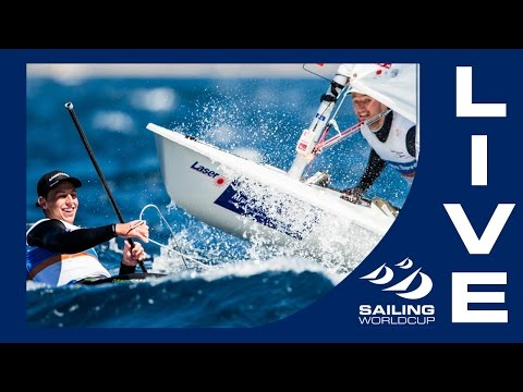 LIVE Sailing - Sailing World Cup Hyères Medal Races