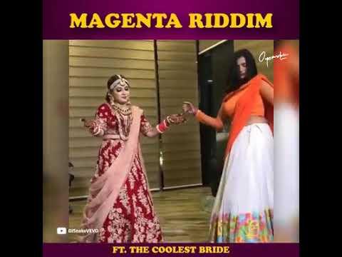 Magenta Riddim Ft. The coolest Bride 👰