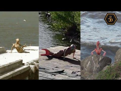3 Impresionantes Sirenas Captadas En Video 2019 - Real O Mito?
