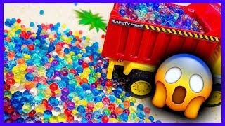 Мультики для детей - Развивающие мультики с игрушками. Опасности на стройке
