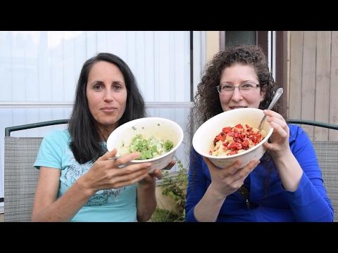 Dinner Interview: Back To Cooked Food? Raw Vegan Fruitarian Mukbang