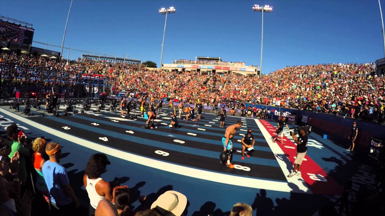 2015 Crossfit Games Mens Final Heat