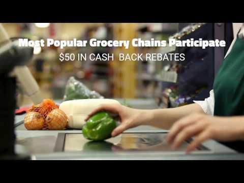 Premium $50 Cash Back Reward - Grocery