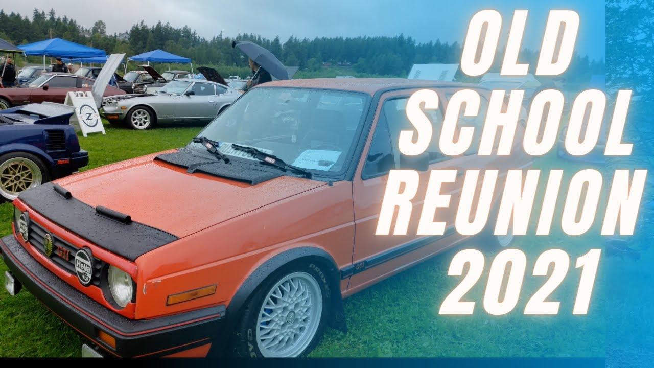 OLD SCHOOL REUNION 2021- my favorite vehicles!
