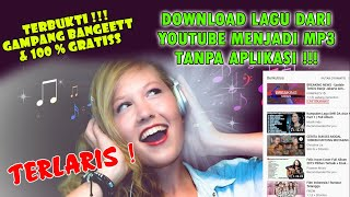 Gambar cover Gampang Bangett !! Cara Mudah Download Lagu MP3 Gratis | Download Youtube Jadi MP3 Tanpa Aplikasi