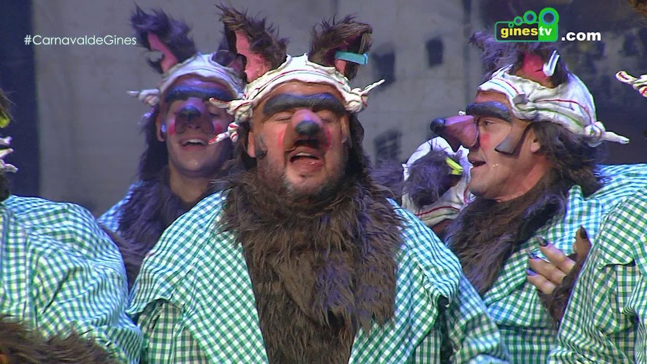Andaluces de pedigree. Carnaval de Gines 2018 (Gran Final)