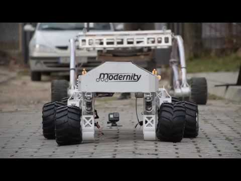 PCz Rover Team - System Acceptance Review Video - URC 2018