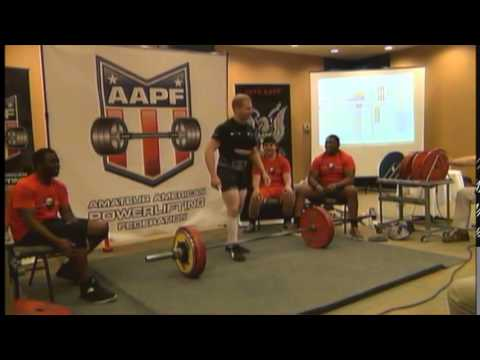 2015 AAPF Nationals Day 3 Deadlift