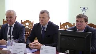 Визит Чрезвычайного и Полномочного Посла Республики Казахстан в ГрГУ имени Янки Купалы