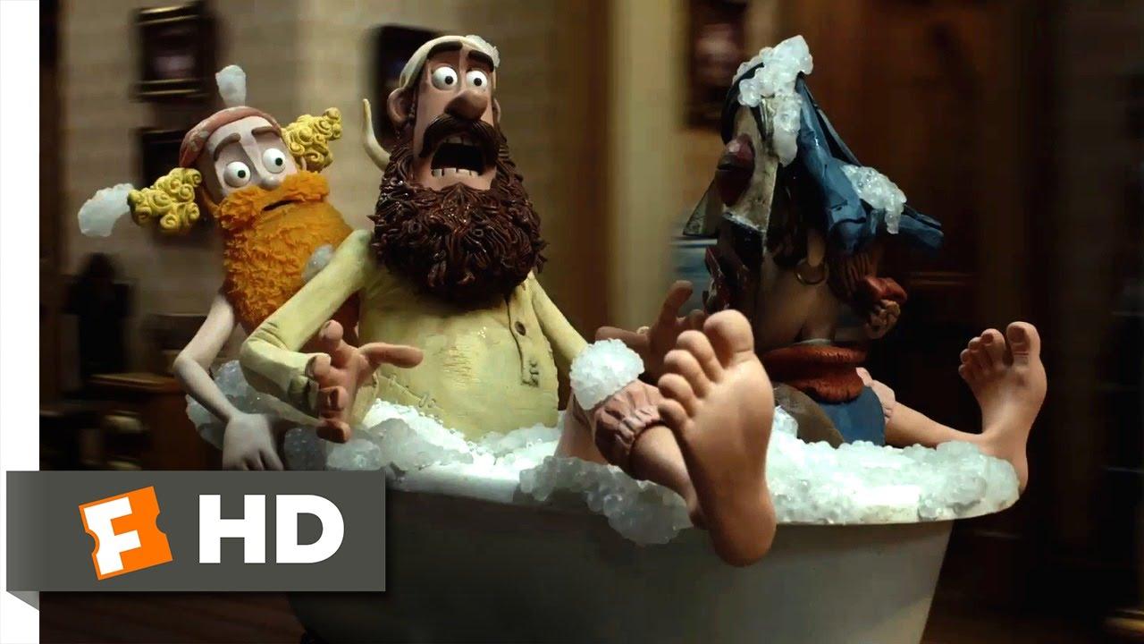Download The Pirates! Band of Misfits (3/10) Movie CLIP - Runaway Bathtub (2012) HD