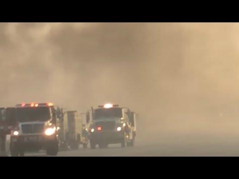 Greenspot Fire in Highland, CA