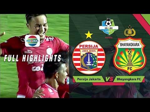 Persija Jakarta (1) vs (0) Bhayangkara FC - Full Highlight  | Go-Jek Liga 1 bersama Bukalapak