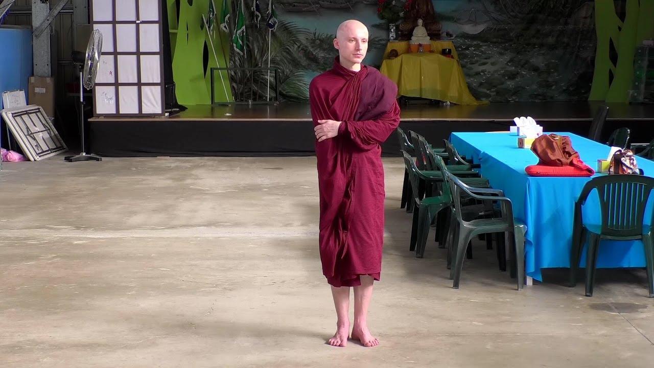 Venerable Sarana Ashin at Tu Vien Phat Da 27-3-2017