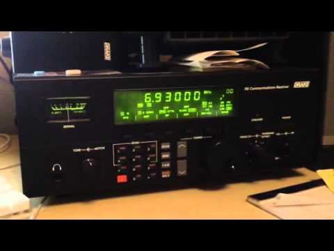 TCS Shortwave Relay Network shortwave pirate radio on Air 3/10/2013