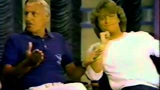 Andy Gibb and Hugh Gibb interviewed by Mike Douglas