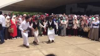 رقص يمني في الجزائر مزمار  حفل ثقافي قسنطينة