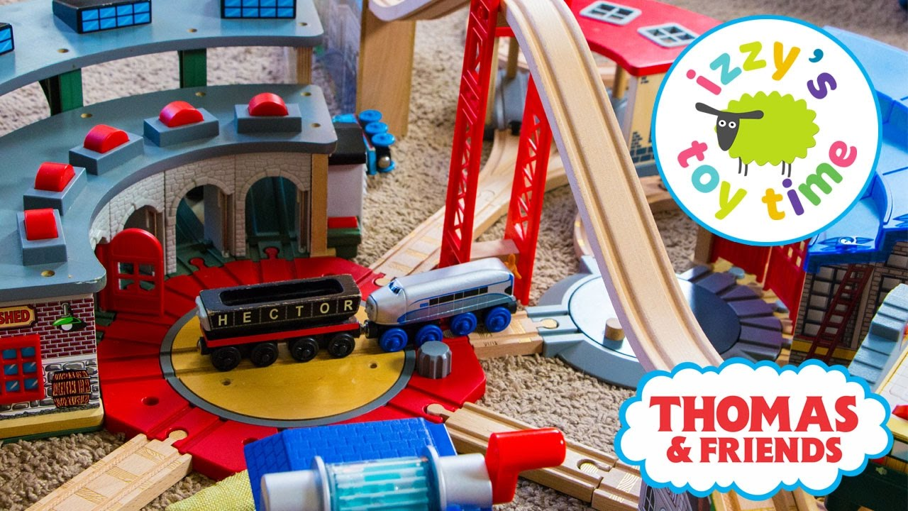 Thomas and Friends | Thomas Train Tidmouth Engine Shed ...