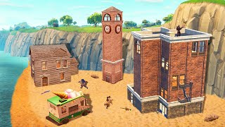 WE FOUND A *SECRET* CITY IN BATTLE ROYALE! (Fortnite)