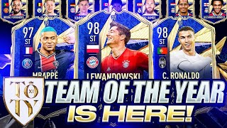 TEAM OF THE YEAR IS HERE! FIFA 21 Ultimate Team