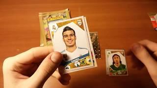 "BOX OPENING 7/10 { } Открытие 5-и пачек ""FIFA 365"" (2018) Panini"