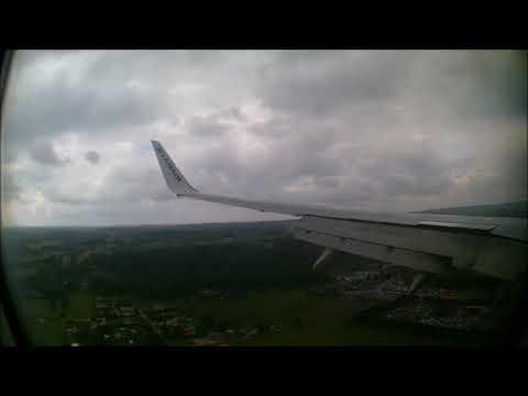 (Bergerac Airport) Ryanair Boeing 737-800 Hard Landing