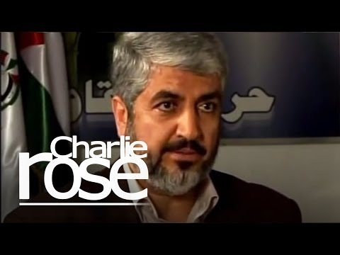 Hamas leader Khaled Meshaal   Charlie Rose - YouTube