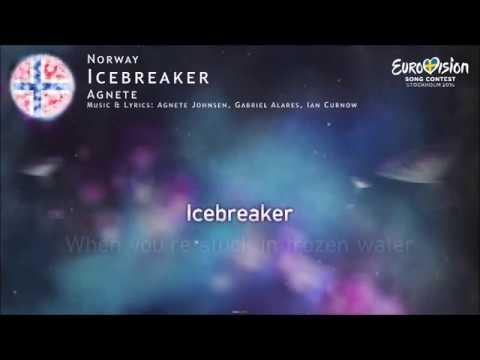 Agnete - Icebreaker (Norway) [Karaoke Version]