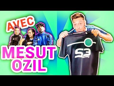 Freestyle avec Mesut Özil !